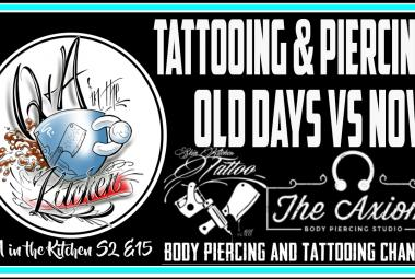 New Q&A in the Kitchen - What is the difference between tattooing or piercing now vs the past? - S02 EP15 - https://youtu.be/mfi5i0mVn_o