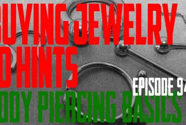 10 Hints on Buying Piercing Jewelry - Body Piercing Basics EP94 - https://youtu.be/bo_KauHAp6A