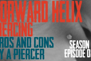 2021 Forward Helix Piercing Pros & Cons by a Piercer S02 EP08 - https://youtu.be/0K3zrGS2Oy4