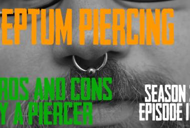 2021 Septum Piercing Pros & Cons by a Piercer S02 EP17 - https://youtu.be/u5jnwXp7JAk