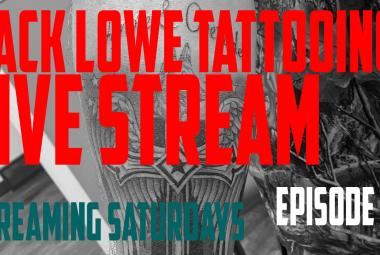 Live Law Enforcement Tribute Tattoo by Jack Lowe - Streaming Saturdays EP02 - https://youtu.be/1130-FDnhlA