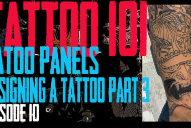 Tattoo Panels - Designing a Tattoo Part 3 - Tattoo 101 EP10 - https://youtu.be/VxbFkwnN_PY